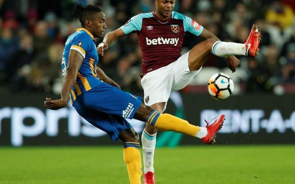 Image for West Ham United: Fans discuss Andre Ayew on Twitter