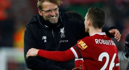 Edwards confident Robertson deal is done