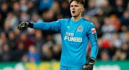 Woodman could get first team shot at Newcastle