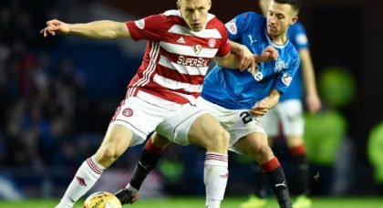 Docherty undergoing Rangers medical