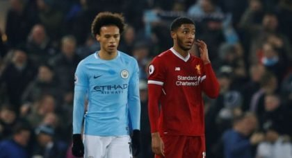 Liverpool: Fans don't want Joe Gomez to play against Manchester City on Sunday