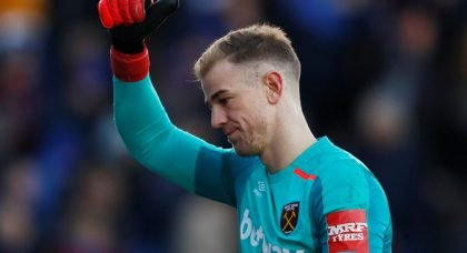 Manchester City keeper Joe Hart wanted by Chelsea