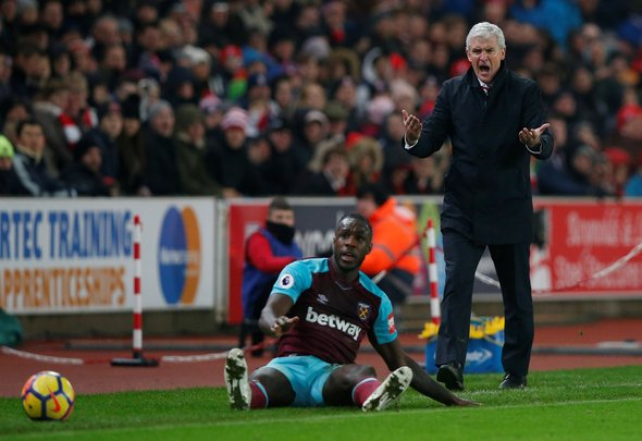 West Ham willing to sell 'unfit' Antonio for £20m