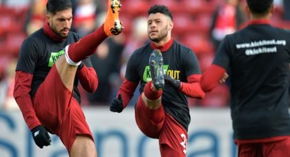 Echo: Liverpool may fast-track Ox back into side