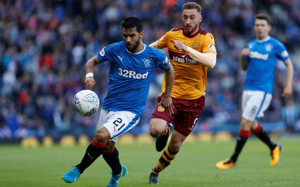 Image for Rangers: Daniel Candeias has found success during his time at Genclerbirligi