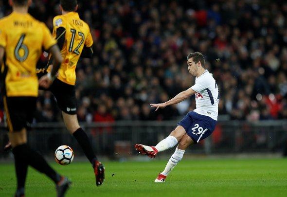 Tottenham fans love Harry Winks as number eight