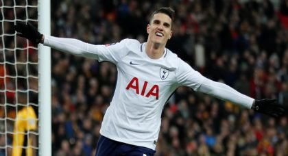 Dinnery: Lamela may have suffered setback