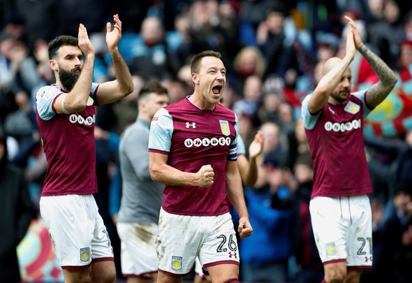 John Terry expected to want Aston Villa return