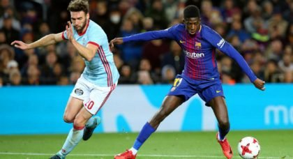 Man City: Club officials meet with Barcelona's Ousmane Dembele's representatives