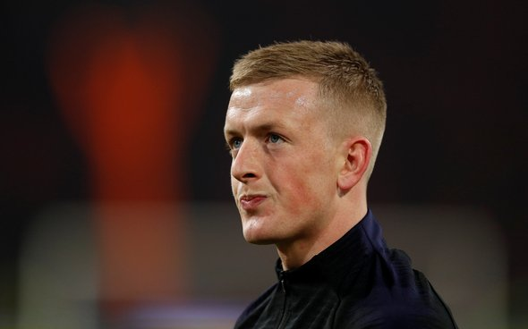 Image for Leeds United: Some fans 'gutted' at the news Jordan Pickford won't play at Elland Road