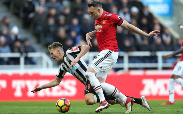 Image for Liam Kennedy insists Newcastle should not sign Man United's Phil Jones