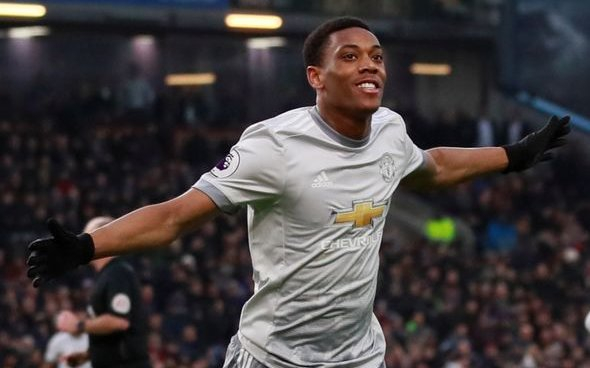 Image for Palmer: Anthony Martial will play a big part for United