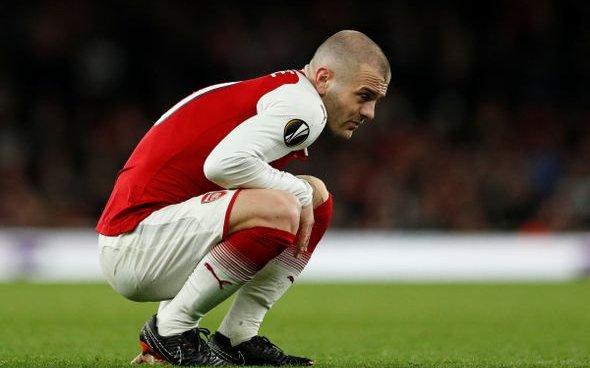 Image for Arsenal: Charles Watts dampens rumours of Jack Wilshere return