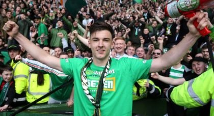 Sutton reacts to Everton interest in Celtic ace Tierney