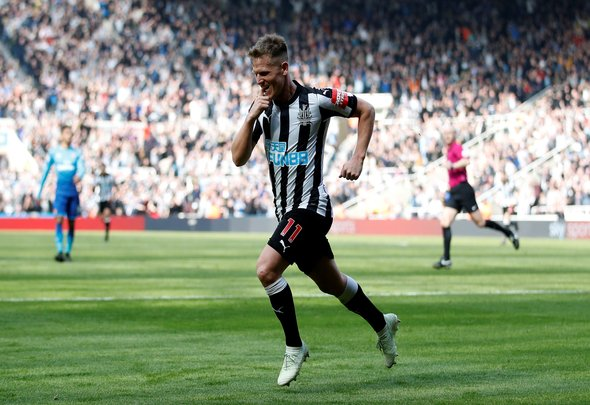 Ritchie talks ahead of Newcastle v Arsenal