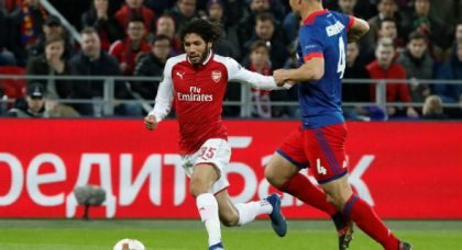Arsenal ready to offload Elneny