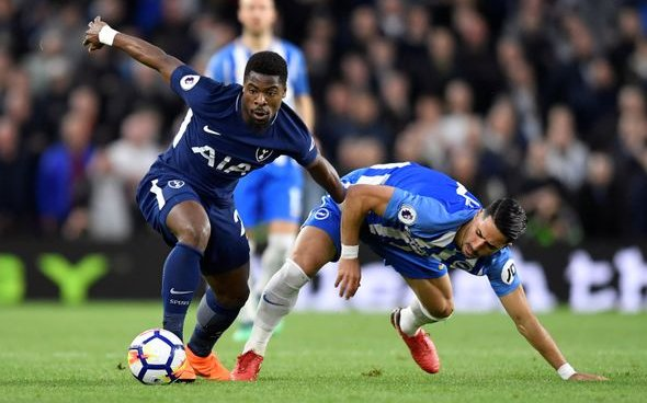 Image for Tottenham fans react to Aurier injury boost