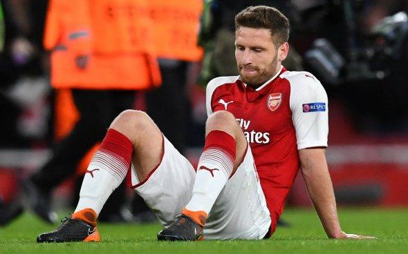Image for Arsenal: Fabrizio Romano discusses Shkodran Mustafi's future