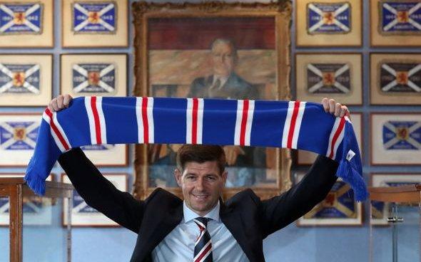 Image for Rangers: Fans react to image of Steven Gerrard