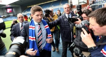 Gerrard facing Rangers centre back issue with Beevers not for sale