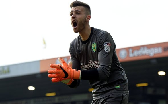 Image for Exclusive: Newsome advises against Norwich signing Angus Gunn