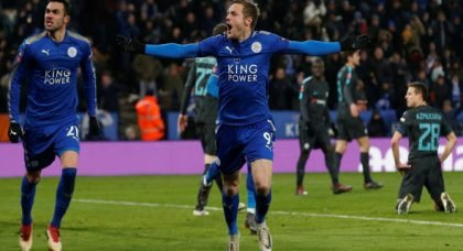 Manchester City will need to be on top form to contain Vardy according to Rodgers