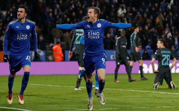 Image for Leicester City: Fans left buzzing after Jamie Vardy's tweet