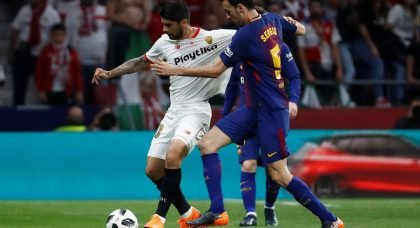 Arsenal must test Banega's will to stay in Spain