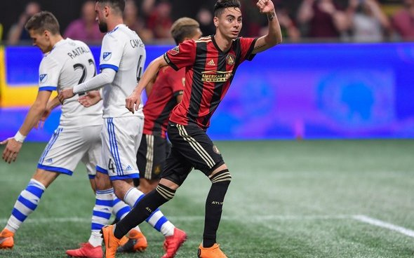 Image for Tottenham set to buy Miguel Almiron for £22.1m – report