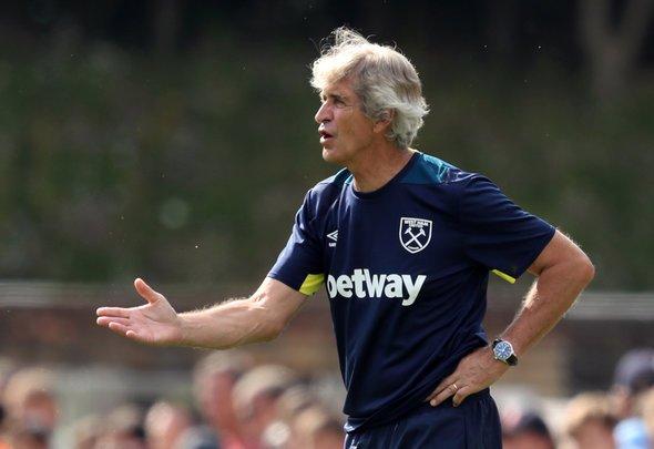 West Ham scout Pelagio