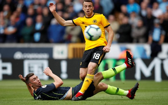 Image for Wolves: Pundit airs criticism of Diogo Jota