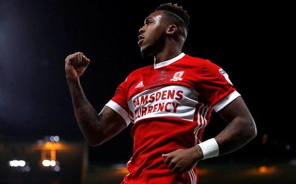 Image for West Brom eye up Middlesbrough forward Britt Assombalonga