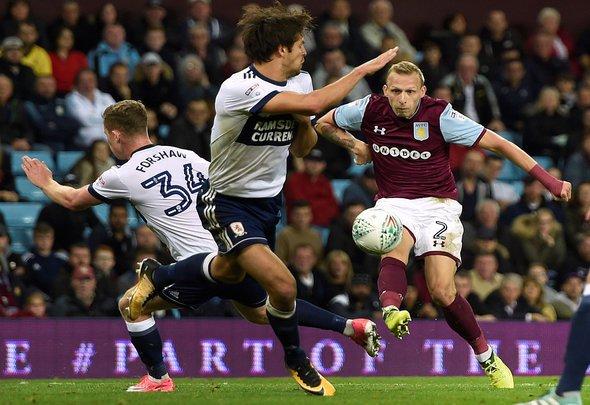Some Aston Villa fans react to De Laet depature