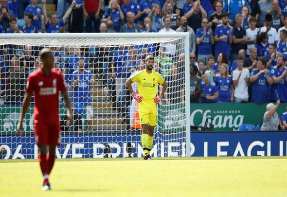 Liverpool fans react to Alisson display v PSG
