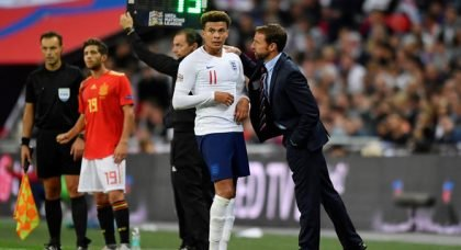 Spurs fans react to Southgate links