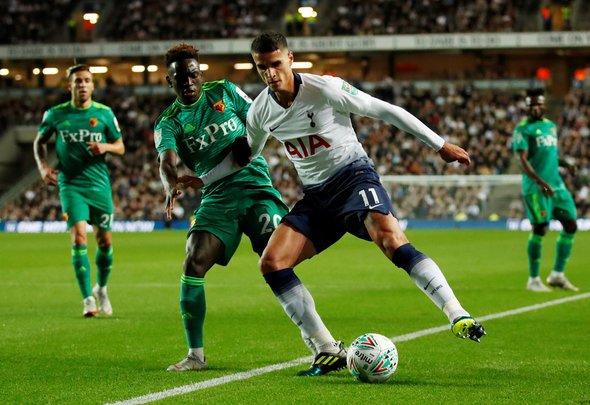 Cascarino raves about Lamela for Tottenham