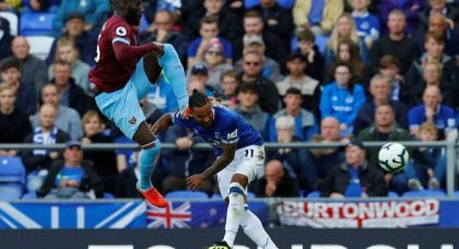 West Ham escaped with victory v Everton as Masuaku slammed