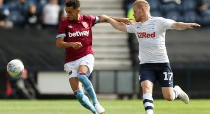 West Ham United: Fans want Nathan Holland to get a chance in the first team