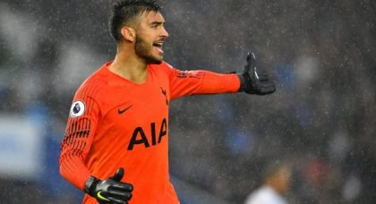 Tottenham fans in awe of Gazzaniga for display v Chelsea