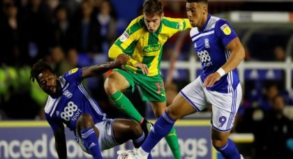 West Bromwich Albion: Fans on Twitter praise performance of Conor Townsend