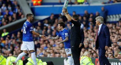 Everton fans react to Bernard display v Crystal Palace