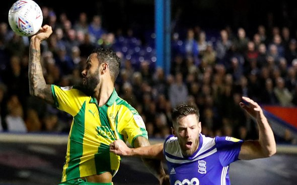 Image for West Brom fans savage Bartley against Blackburn