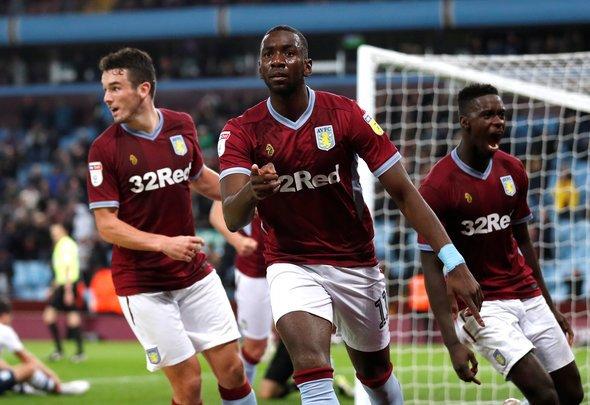 Aston Villa expected XI v Derby