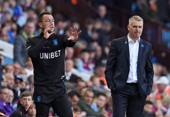 Jacobs: Villa 'very impressed' with Terry