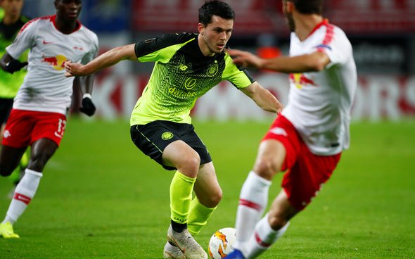 Image for Celtic: Some fans feel Lewis Morgan managed to put in a solid performance