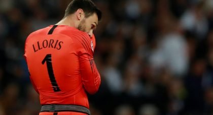 Cascarino: Lloris has never excelled with his feet