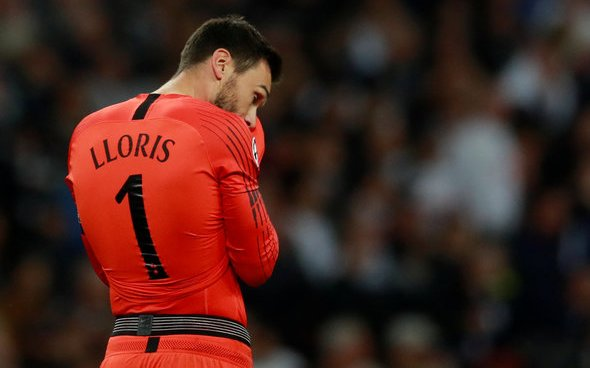 Image for Cascarino: Lloris has never excelled with his feet