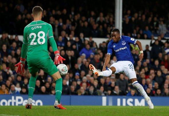Many Everton fans split over Euro Under-21 announcement