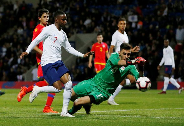 Everton fans drool over Lookman for England U21s