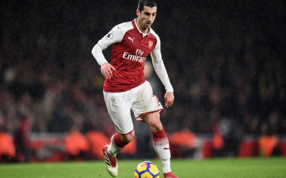 Image for Arsenal: Allowing Henrikh Mkhitaryan to leave on loan may have been an error